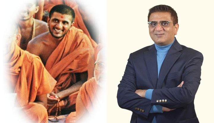 Sanjaycpatel.com, Sanjay C Patel, Shibir, former monk, sadhu, Yoga For Inner Peace, meditation, reduce stress, combined pic