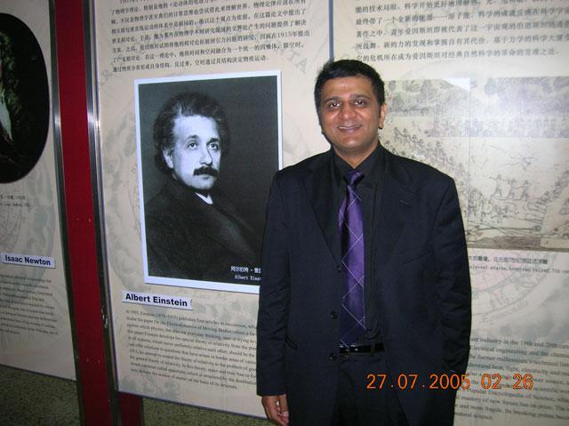 Sanjaycpatel.com, Sanjay C Patel, science and religion, marine scientist, INSA, ICHS congress of historians of science, Beijing, Einstein